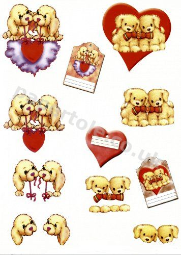 3d Easymake - Puppy Love       11055-198 3D Easymake Easy to follow instructions