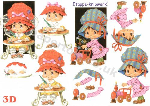3d Easymake - Little Girl     4169148 3D Easymake Easy to follow instructions