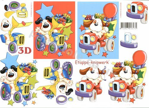 3d Easymake - Party Pup       4169474 3D Easymake Easy to follow instructions
