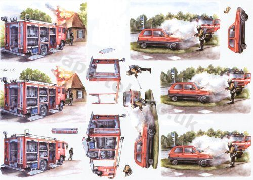 3d Easymake - Fireman      8215144 3D Easymake Easy to follow instructions