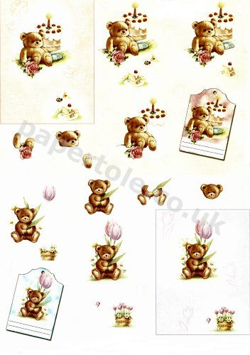 3d Easymake - Birthday Bear     11055-213 3D Easymake Easy to follow instructions