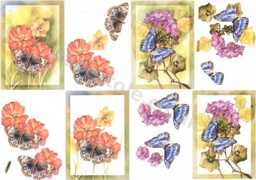 Die Cut Decoupage Card Making Suppliers 3d Decoupage Sheets