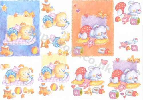 3d Easymake - Baby Bears      4169479 3D Easymake Easy to follow instructions