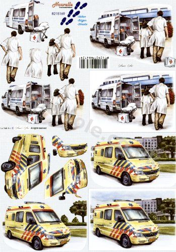 3d Easymake - Hospital Staff     8215169 3D Easymake Easy to follow instructions