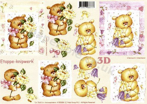 3d Easymake - cute teddies Teddies 3D Easymake Easy to follow instructions