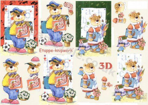 3d Easymake - Best Boy Best Girl     4169487 3D Easymake Easy to follow instructions