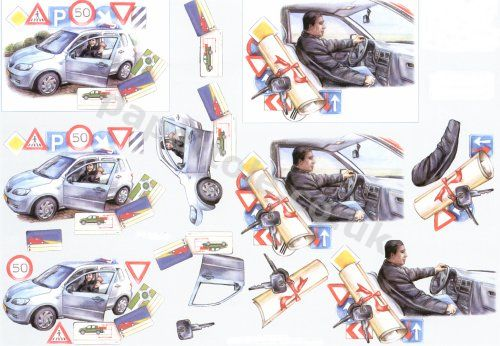 3d Easymake - Driving Test     8215143 3D Easymake Easy to follow instructions