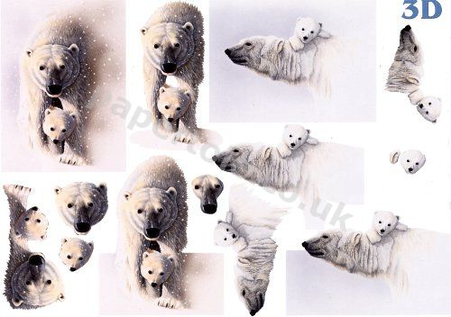 Polar Bears     4169595 3D Easymake Easy to follow instructions