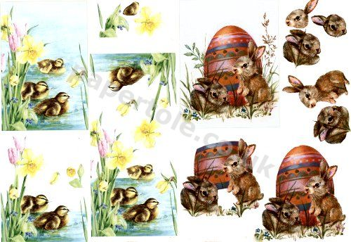 Ducklings     4169662  3D Easymake Step by step