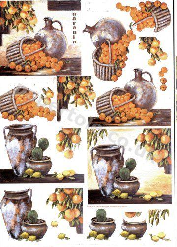 Mediterranian Fruits      4169633 3D Easymake Easy to follow instructions