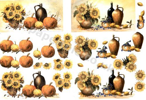 Pumkins And Sunflowers  ****SPECAIL OFFER*** 4169.634 3D Easymake Easy to follow instructions