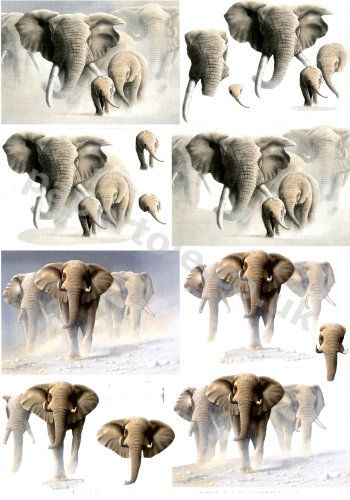 Elephants     4169594 3D Easymake Easy to follow instructions