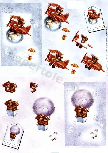 Flying Bears     11055-235 3D Easymake Easy to follow instructions
