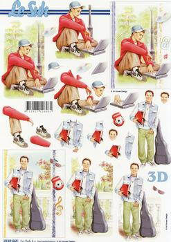 Teenage Boys 3D Easymake Easy to follow instructions