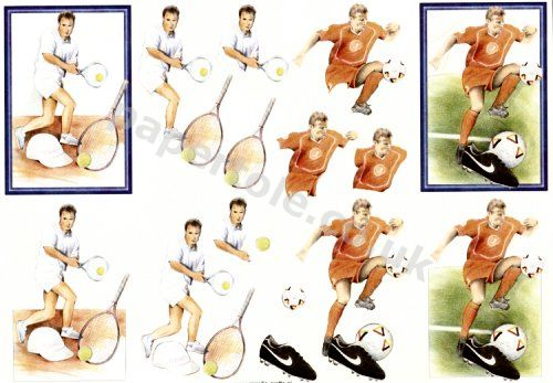 Tennis & Soccer     E550 3D Easymake Easy to follow instructions