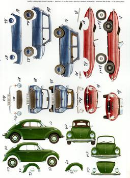 Classic Cars - A4 Step by Step . *