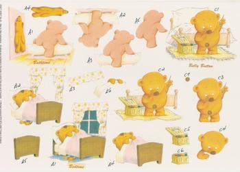 Bathtime Bedtime and Belly Button Teddy Bear - Craft Sheet 45 by Michael Lockwood Jacksons Mail Order