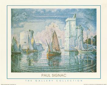 The Gallery Collection - The Port At La Rochelle by Paul Signac 10
