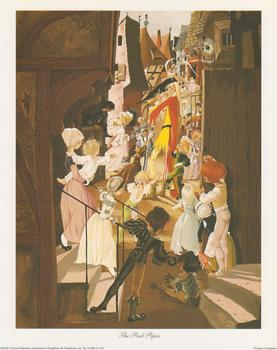Pied Piper Print Anne Grahame Johnstone