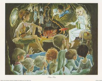 Peter Pan Print Anne Grahame Johnstone