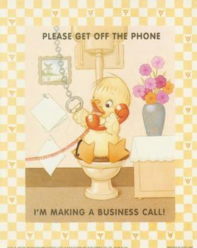Please  Get off the Phone - by Archie Dickens/Barry Everett B2291Print - 10