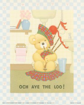 Och Aye the Loo - by Archie Dickens/Barry Everett B2283 Print - 10
