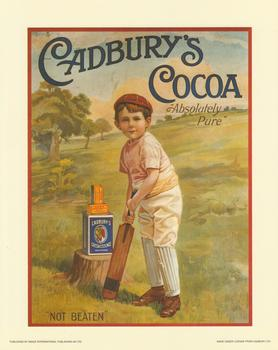 Cadburys Cocoa Print  'Absolute Pure' . papertole
