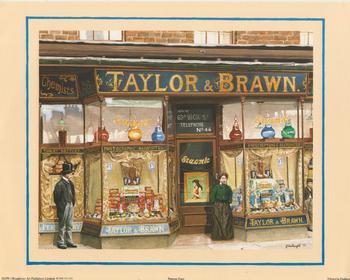 Bygone Times - Taylor & Brawn Chemists - 10