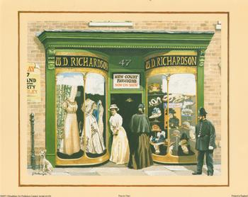 Bygone Times - No 47 New Court Fashions - WD Richardsons -  10