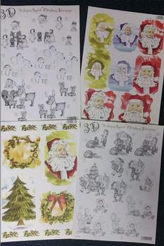 Pack of 4 - Santa or Father Christmas Themed Pack = 2159 642 2154 643 -