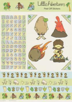 A4 Stone Age Themed Stickers - 455 .