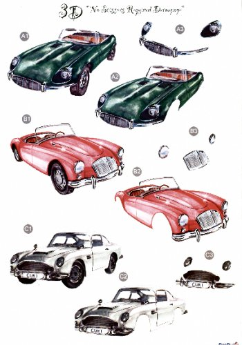 Male Die Cut Sheet - Cars 3 push out projects   446  - OUT OF STOCK Die Cuts papertole.co.uk