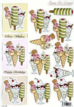 **Cup Cake Toppers** - 3 Brand New Design's - DIE CUT   739 Specials papertole.co.uk