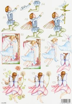 Forever Fairies - Boy & Girl Fairies - 868 . papertole.co.uk