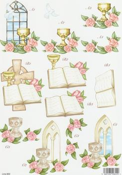 Baby - Christening - Church Theme - 850 g papertole.co.uk