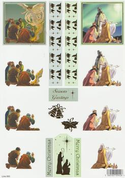 Die Cut - Religious Theme  950 . papertole.co.uk