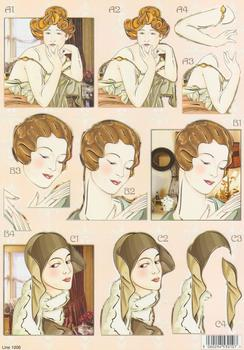 Art Deco - New Designs for 2012 - Line 1006 . papertole.co.uk