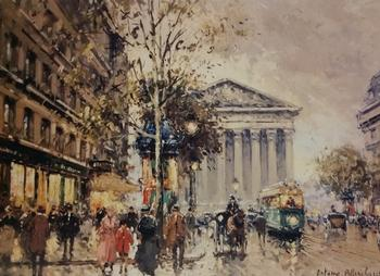The Madeleine Paris by Antoine Blanchard 12
