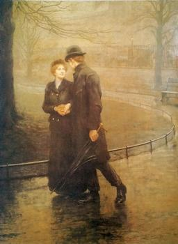 GARDEN OF EDEN - Hugh Goldwyn Riviere 1869 - 1947 16