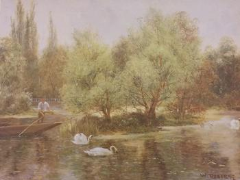 On the Thames by W Osbourne 16