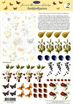 Fruit Toppers A4 Sheet Janneke Brinkman-Sal