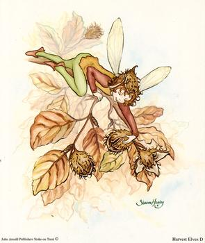 Harvest Fairies Print D - 5