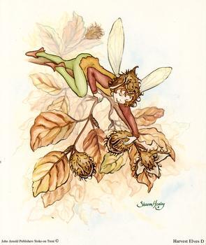 Harvest Fairies Print D - 5