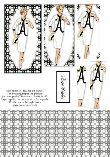 DL Pyramid Cards - Fashion 8 3d Card Art RRP 75p