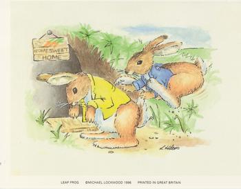Leap Frog Rabbit by L Hinton Le Suh