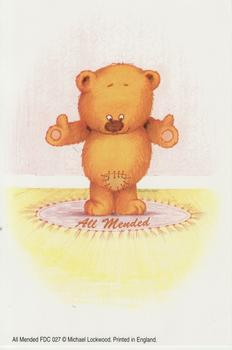 ALL MENDED - Cute Teddy Bear Card Topper 4