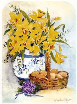 Eggs & Daffodils -  6
