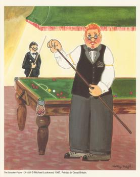 The Snooker Player . *
