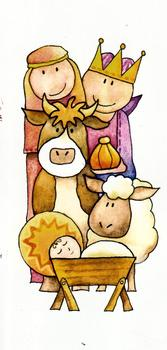 Nativity with Donkey - 3