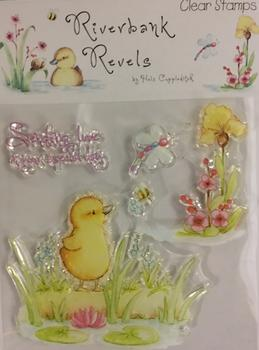 Clear Stamp - Duckling - Easter - Childrens - Cute - ** Sentiment - Sending Love on Your Special Day** . -Jacksons mail Order